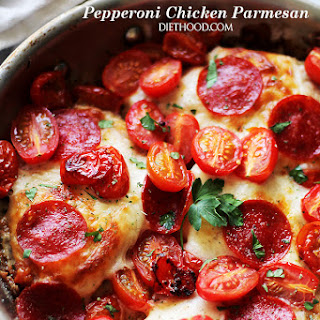 Pepperoni Chicken Parmesan