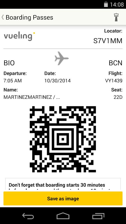Vueling - Cheap Flights - screenshot