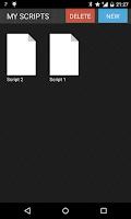 Screenshot of Teleprompter Pro LITE