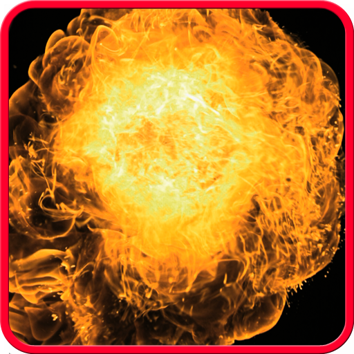 Flames explosion Icon