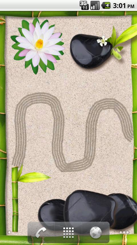 Zen Garden LWP - screenshot