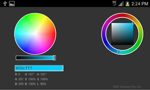 HTML Colour Picker screenshot 1
