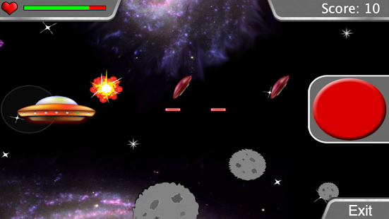 Saucer Captain: Earth Defender- screenshot thumbnail