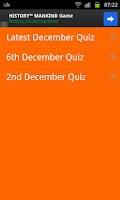 Screenshot of Football Quiz