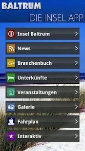 BaltrumApp- screenshot thumbnail