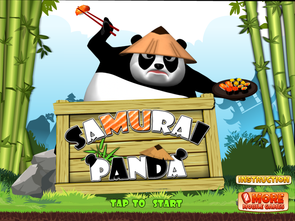 Samurai Panda - screenshot