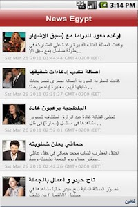 News Egypt screenshot 2