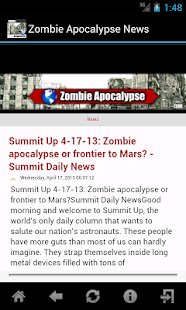 Zombie Apocalypse News - screenshot thumbnail