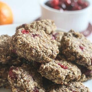 Cranberry Orange Breakfast Cookies.