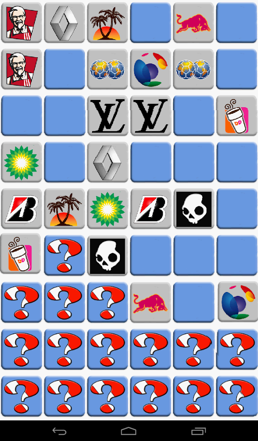 """Memory"" - Memory game - screenshot"