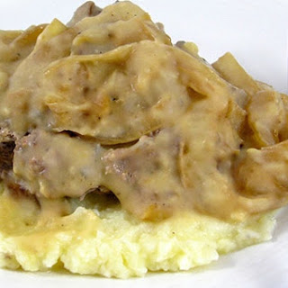 Skinny Salisbury Steak, a Diner Classic Recipe