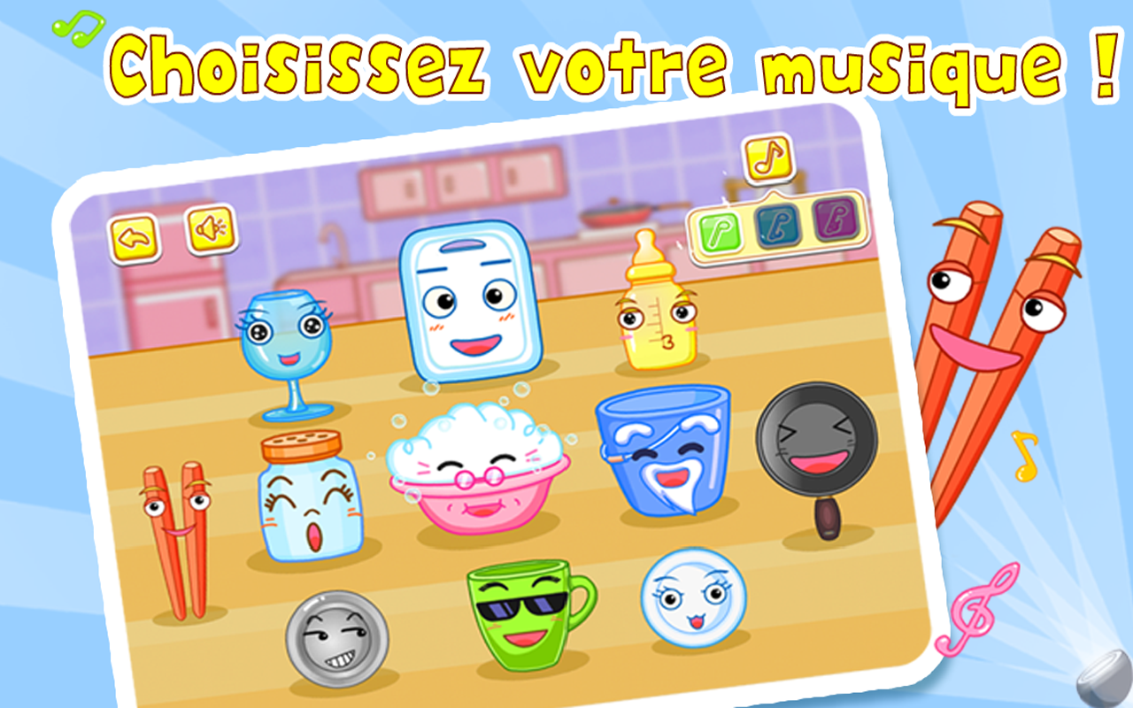 Percussion de la cuisine - screenshot