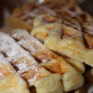 Traditional Waffles.