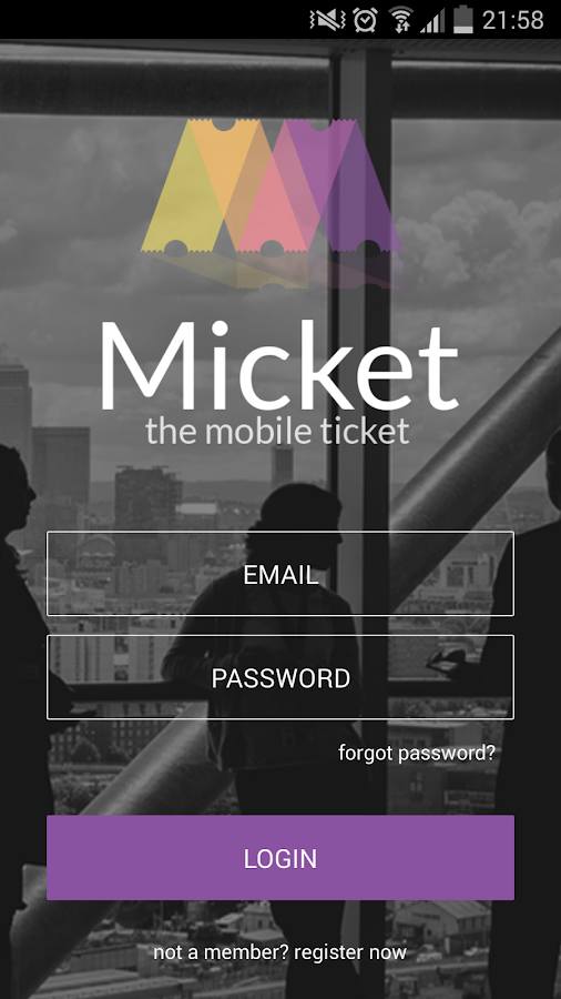 Micket- screenshot