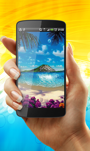 Tropical Ocean Live Wallpaper