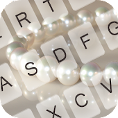 White Pearl Keyboard Theme
