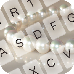 White Pearl Keyboard Theme