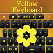 Yellow Keyboard Theme