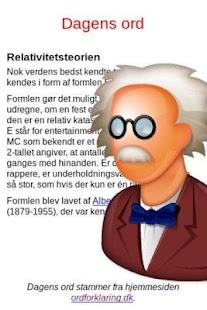 Dagens ord- screenshot thumbnail