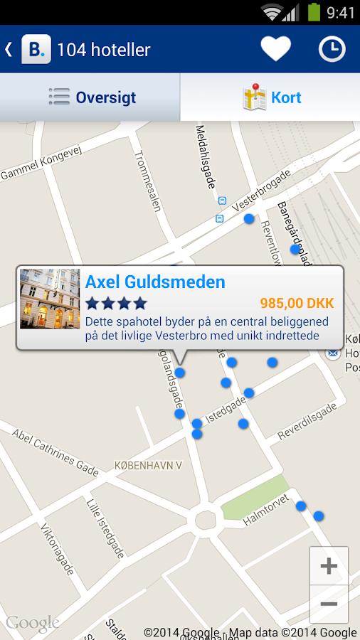 Booking.com - online-hoteller – skærmbillede