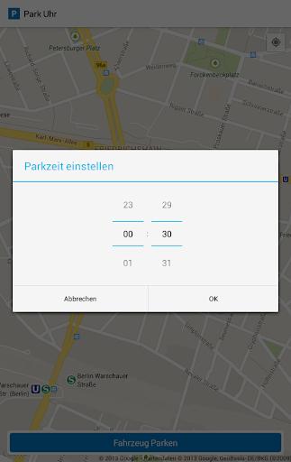【免費交通運輸App】Park Uhr-APP點子