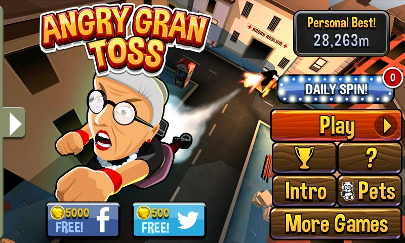 Angry Gran Toss- screenshot