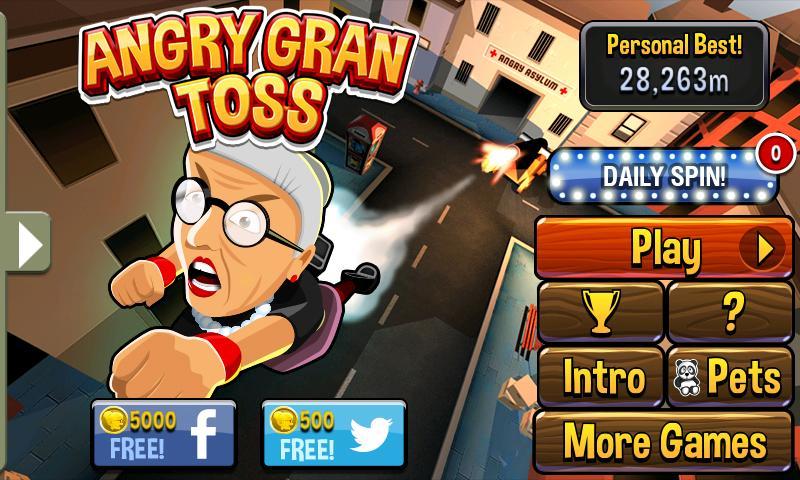 Angry Gran Toss - screenshot