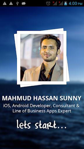 Mahmud Hassan's Portfolio App