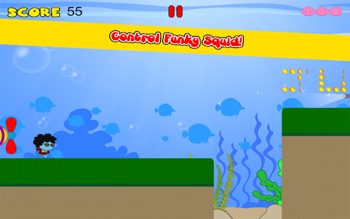 Funky Squid Goes Running- screenshot thumbnail