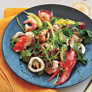 Mixed Seafood Salad.