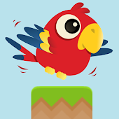 Flappy Pirate Parrot