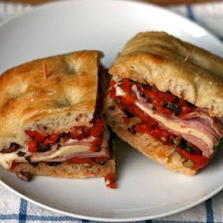Classic Muffaletta Sandwich.