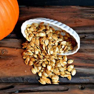Toasted Pumpkin Seeds.
