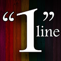 One Line Quotes icon