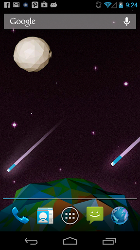 Comet Live Wallpaper
