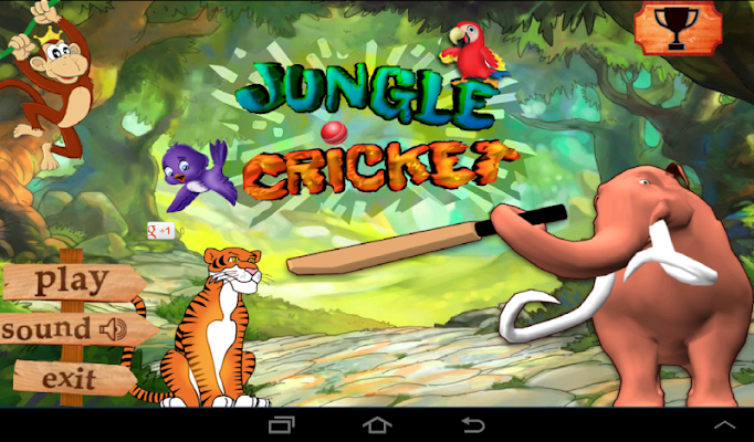 Jungle Cricket - screenshot