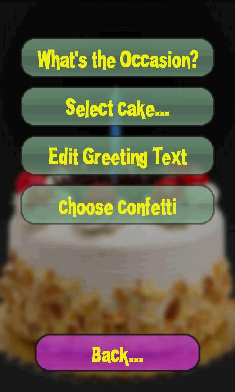Happy Birthday Cake- screenshot