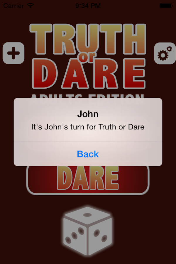 Truth Or Dare - Adult Edition - screenshot