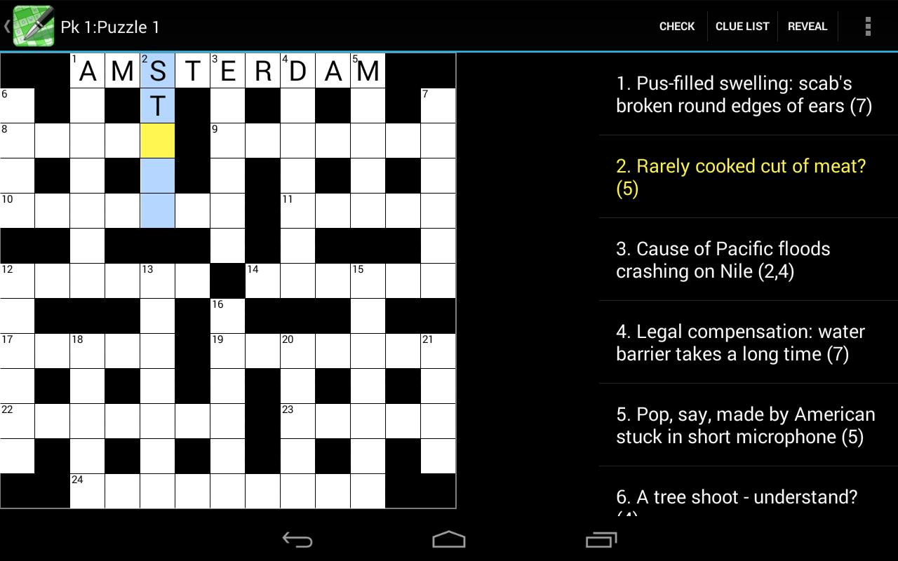 Crossword Cryptic Android Apps On Google Play