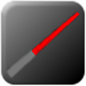 3D Lightsaber logo