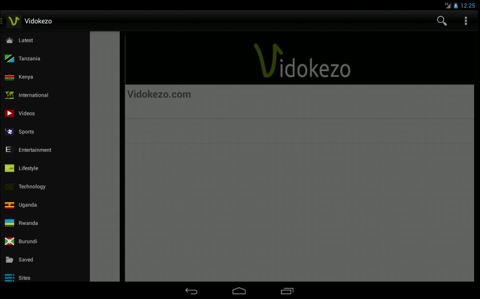 Vidokezo - screenshot
