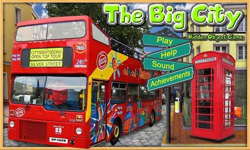 Big City - Hidden Object Game