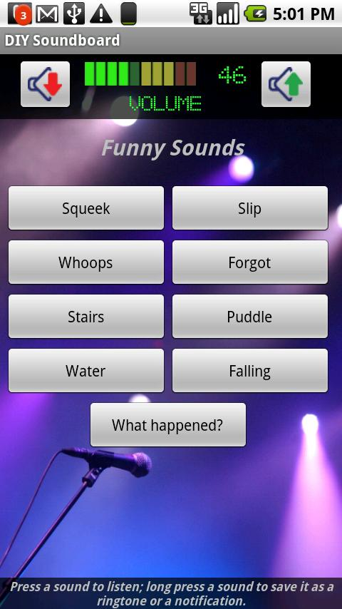 DIY Soundboard - screenshot