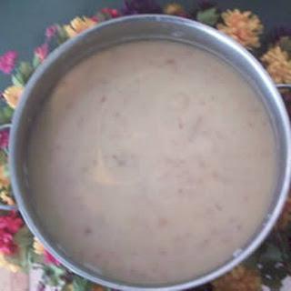 Easy Cheesy Bacon Potato Soup.