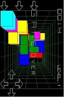 Screenshot of Cubes 3D