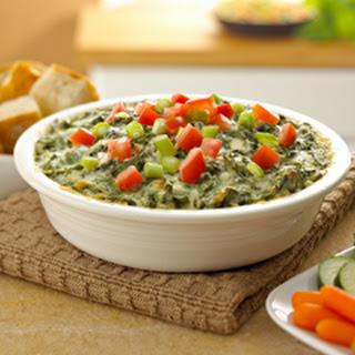 Warm Parmesan Spinach Dip.