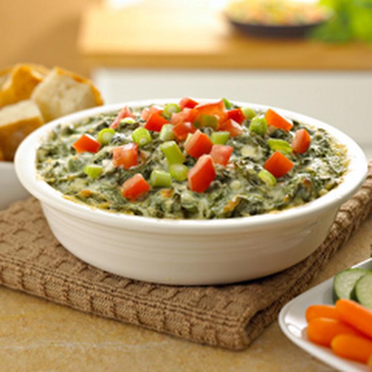 Warm Parmesan Spinach Dip Recipe