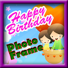 Happy Birthday Photo Frames icon