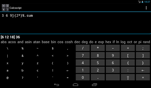 【免費生產應用App】Calcscript-APP點子