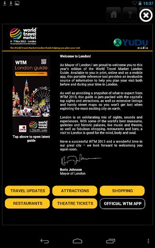 WTM London Guide 2013